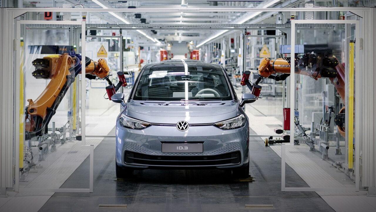 Конвейер Volkswagen