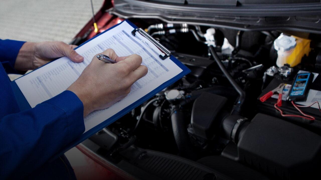 Технический осмотр (ТО) автомобиля и выдача диагностической карты