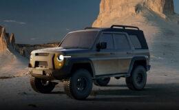 Новое поколение УАЗ Hunter показали официально