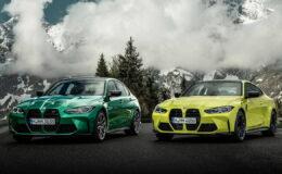 Известны технические характеристики новых BMW M3 и BMW M4