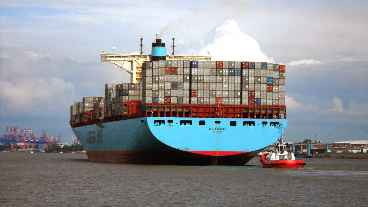 Контейнеровоз Emma Maersk