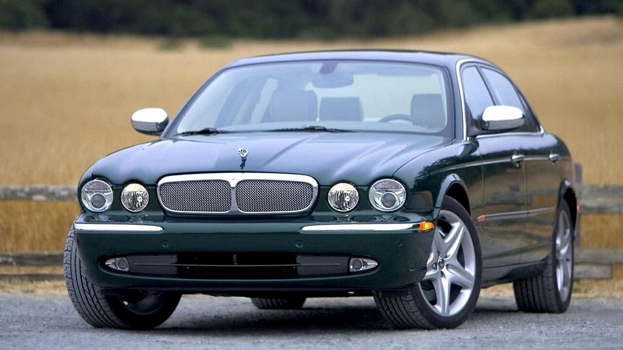 Алюминиевый автомобиль Jaguar XJ