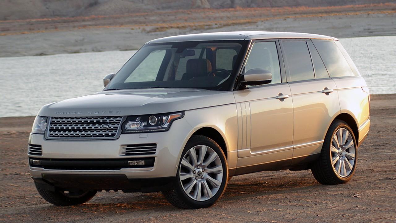 Алюминиевый автомобиль Land Rover Range Rover