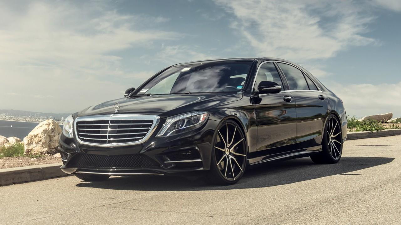 Алюминиевый автомобиль Mercedes-Benz S-Class