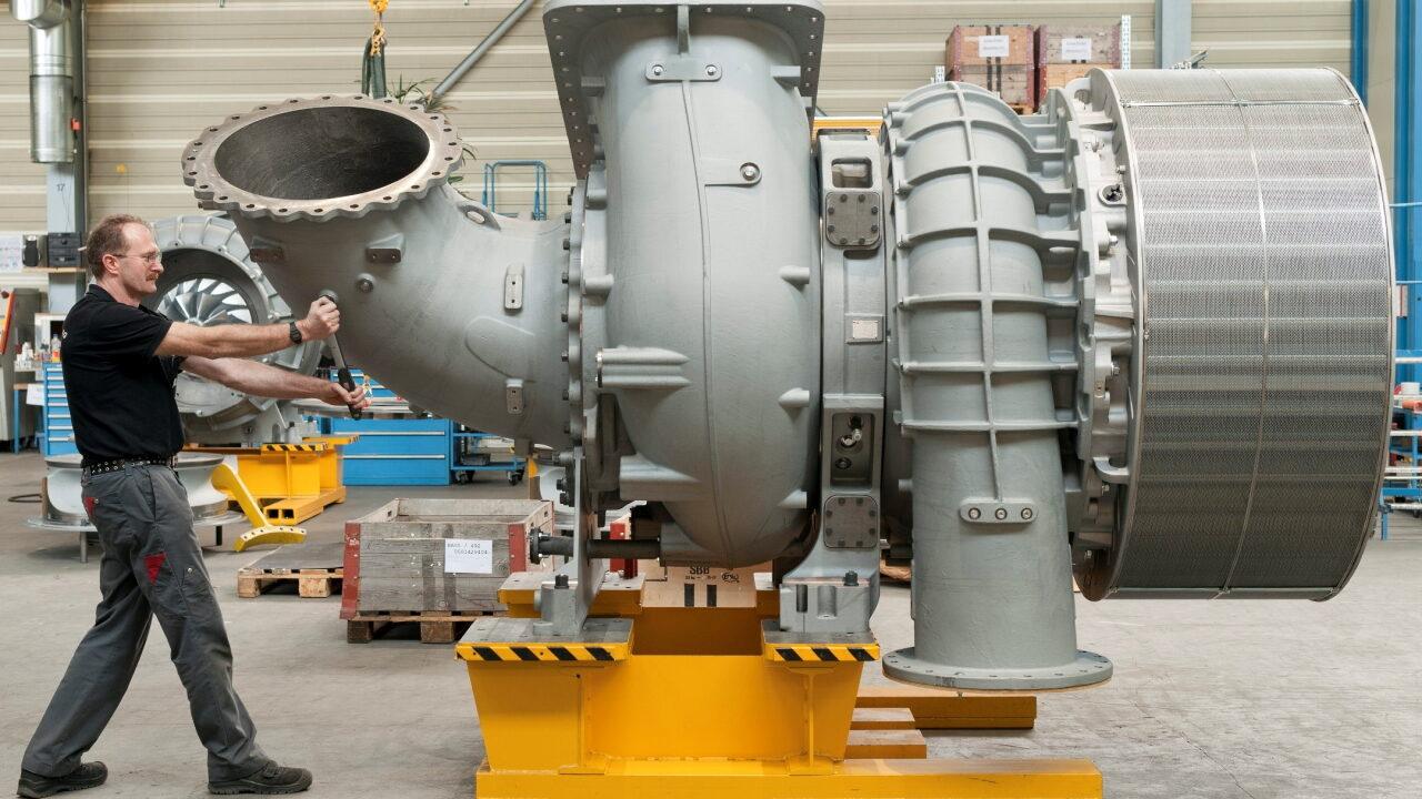 Турбина двигателя Wärtsilä-Sulzer RT-flex96C