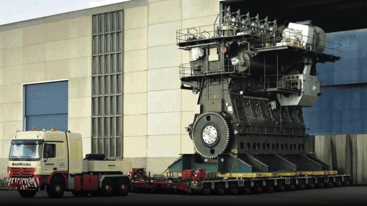 Самый большой двигатель в мире | АВТО INFO