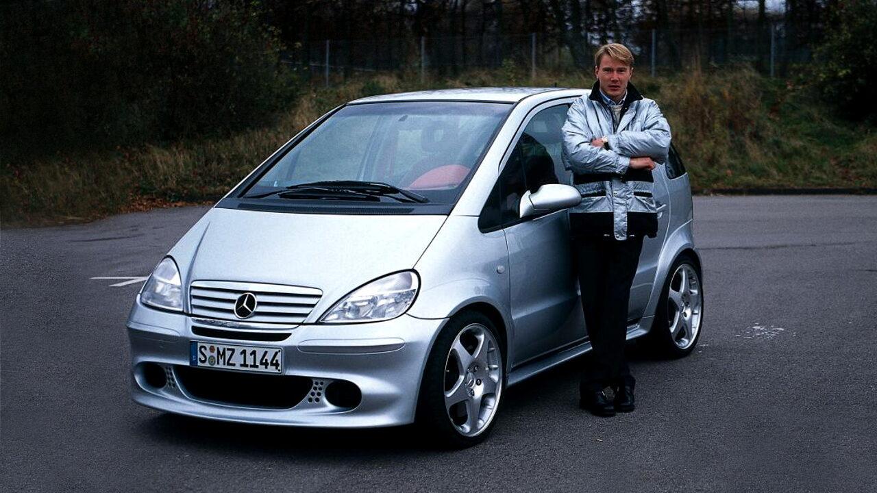 Mercedes-Benz с двумя двигателями