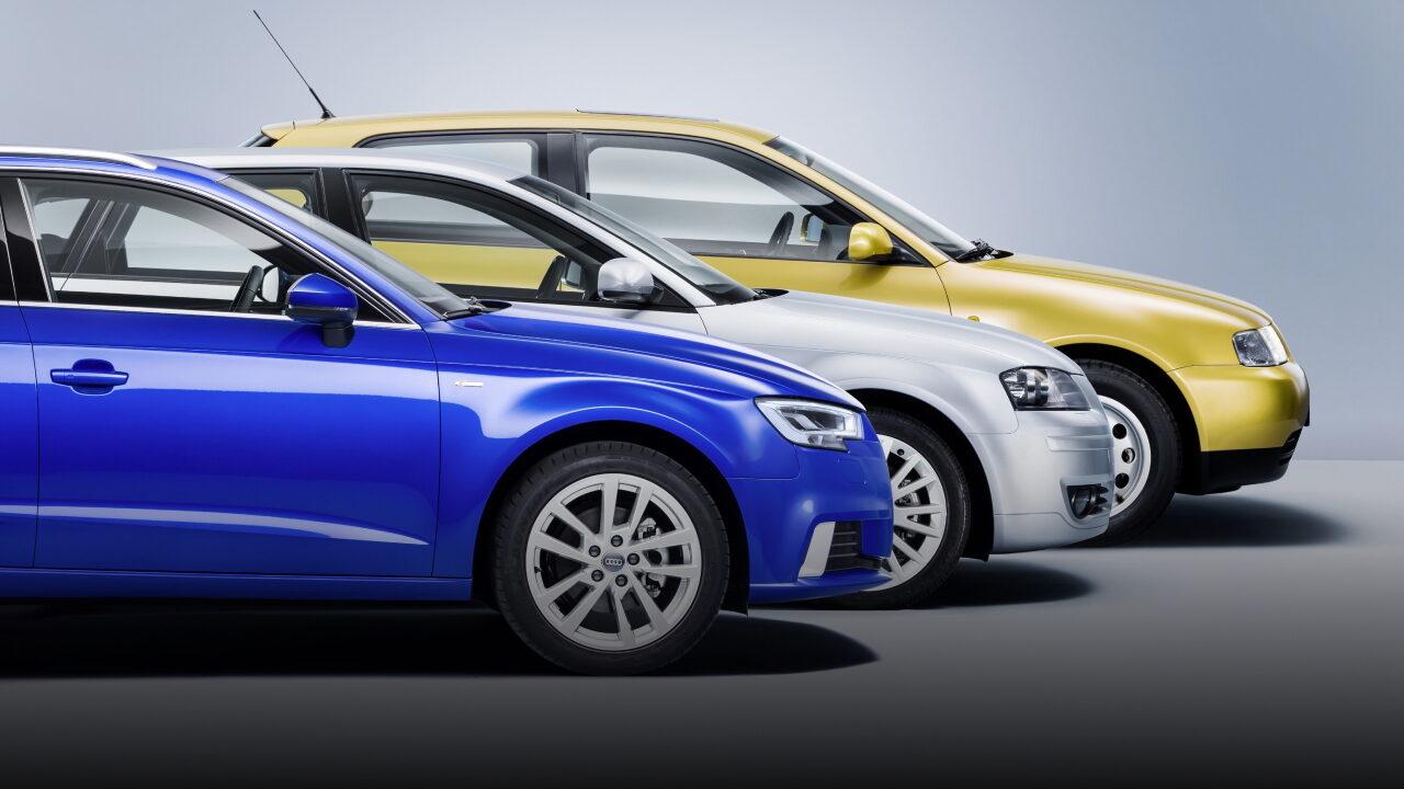 3 поколения Audi A3