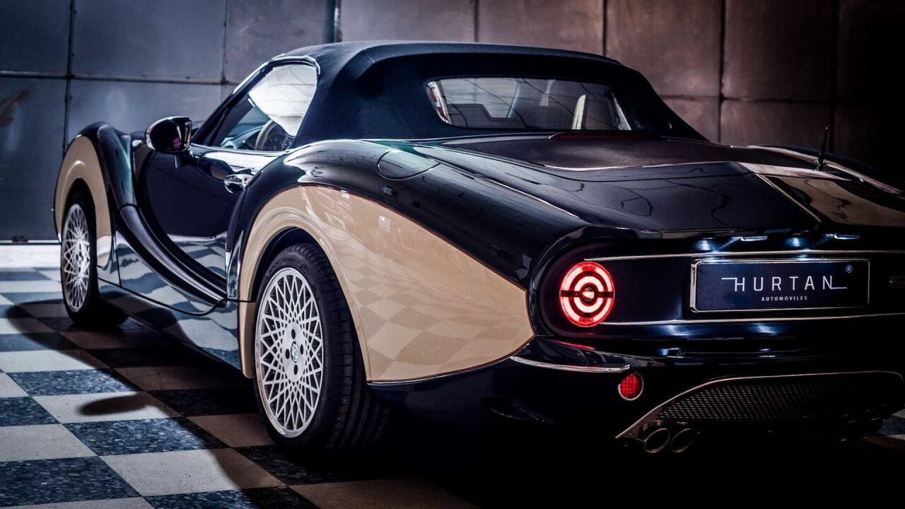 Испанцы превратили Mazda MX-5 в ретро автомобиль