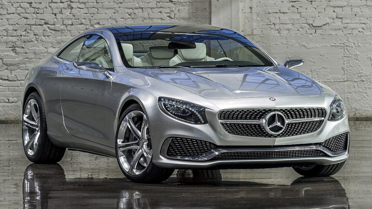 Mercedes-Benz S-Class Coupe (C217) - автомобиль с самыми дорогими фарами