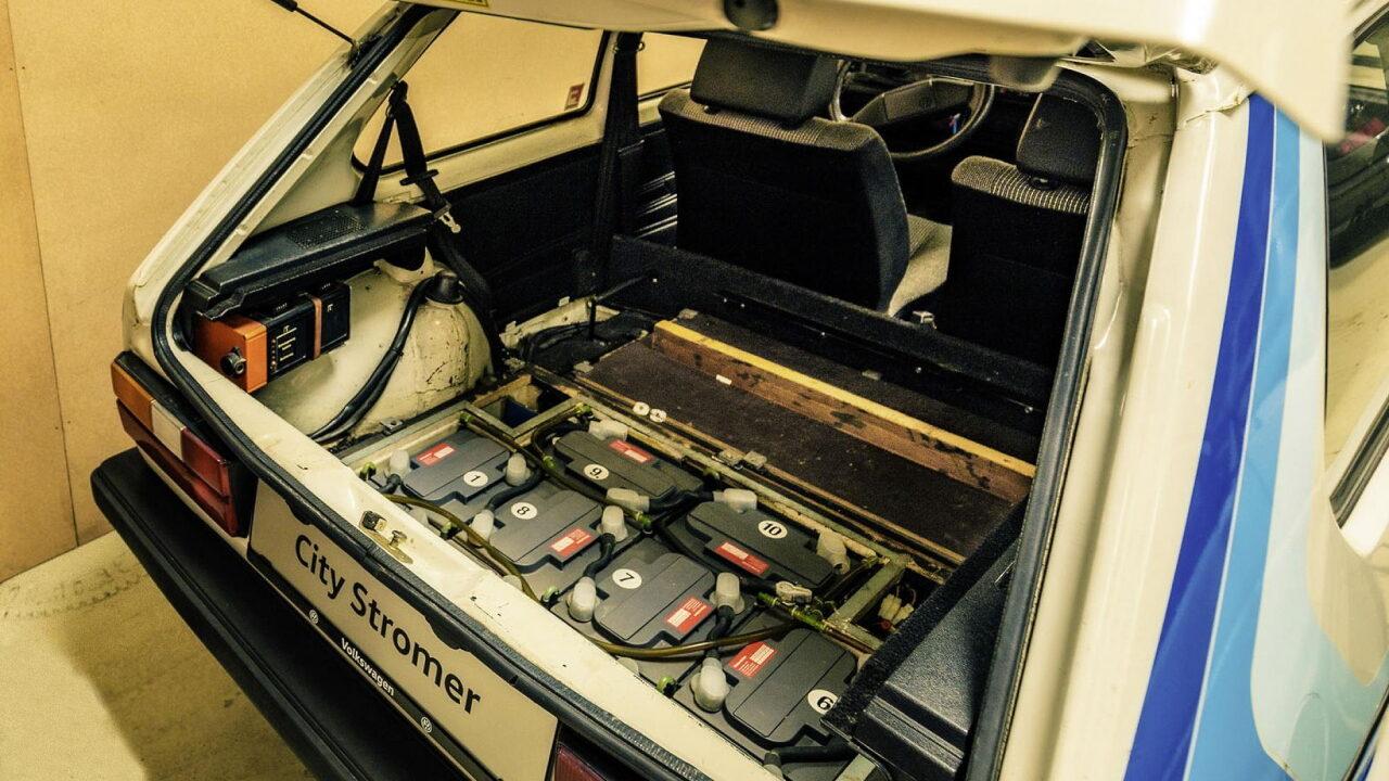Забытый электрический Volkswagen Golf CityStromer