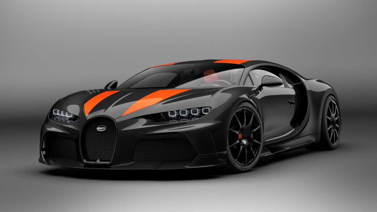 30 самых быстрых автомобилей на планете