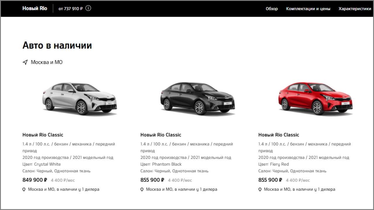 Lada Granta больше не самый продаваемый автомобиль в России