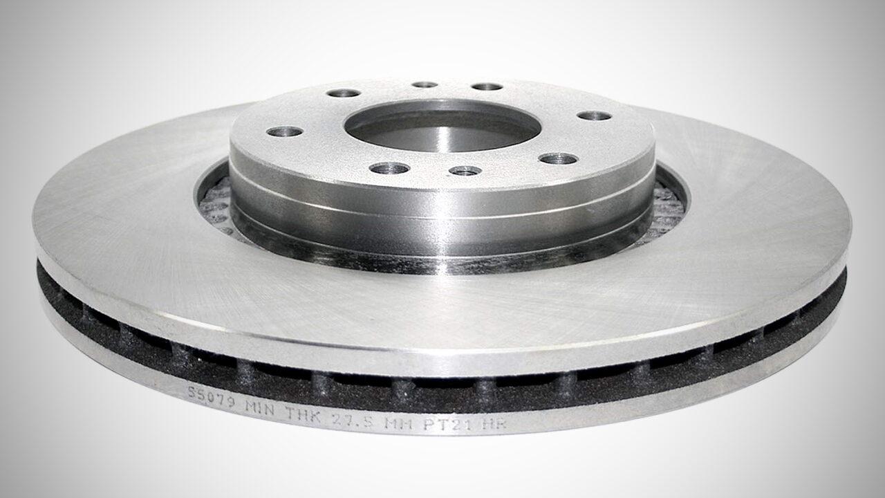 Минимально допустимая толщина тормозных дисков