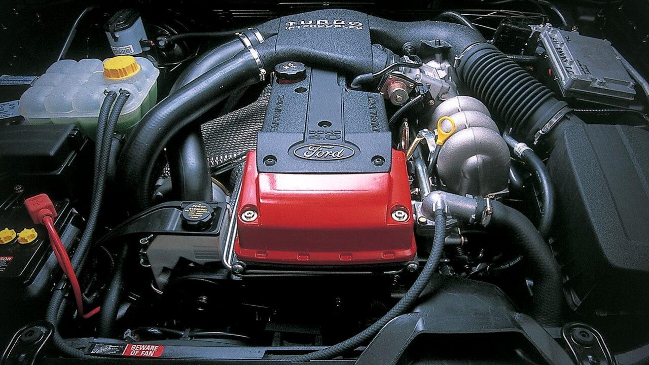 Австралийский двигатель Ford Barra