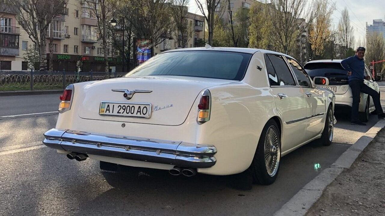 Украинцы скрестили Cadillac DeVille и ГАЗ-21 «Волга»