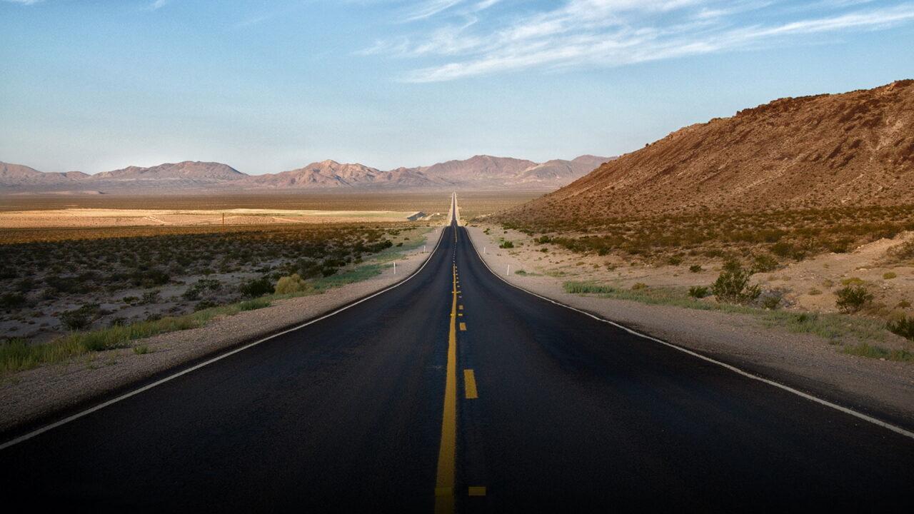 Длинная прямая дорога