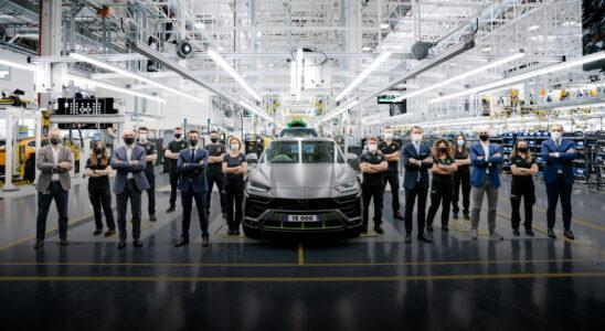 С конвейера сошёл 15-тысячный Lamborghini Urus