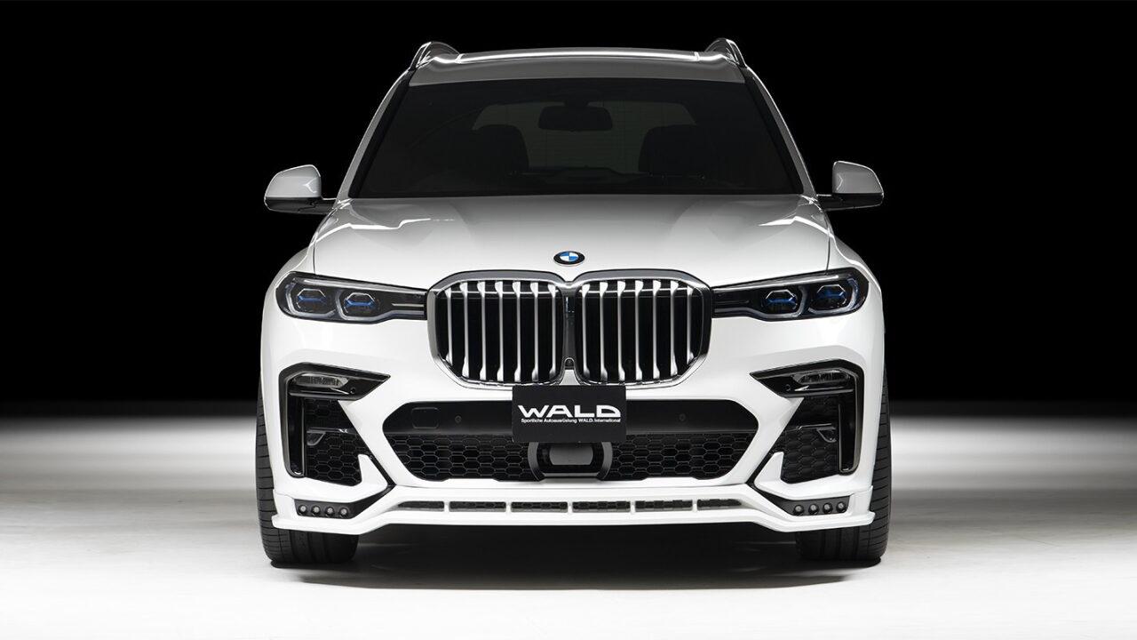 Японцы доработали дизайн BMW X7