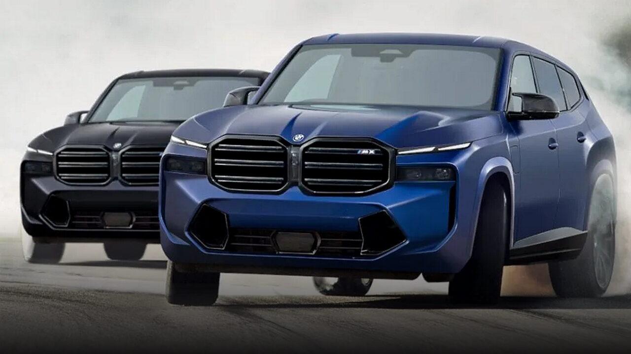 Независимый дизайнер показал, как может выглядеть BMW X8