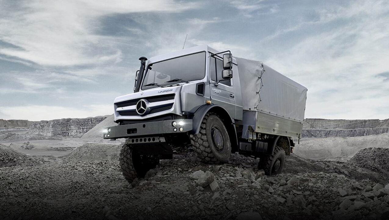 Mercedes-Benz Unimog стал внедорожником года 17-й раз подряд