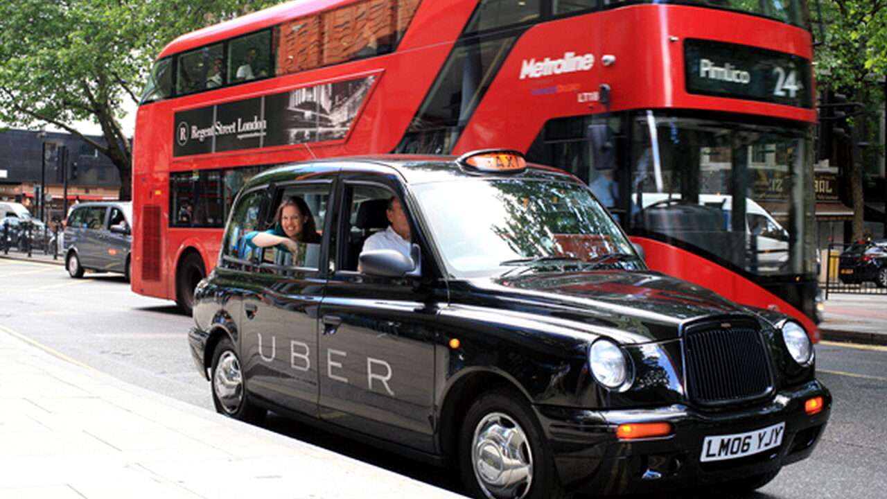 В Лондоне клиент Uber заплатил 332 фунта стерлинга за 1,75-мильную поездку