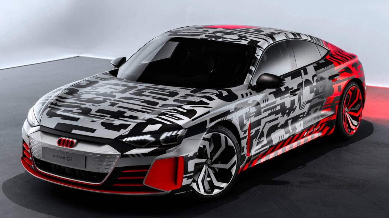Для Audi e-tron GT разработали фирменный чехол