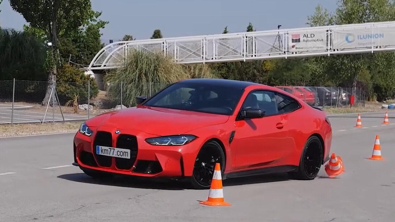 BMW M4 Competition Coupe провалил лосиный тест