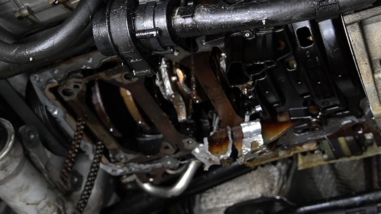 Блогер показал, что сделала с двигателем закись азота