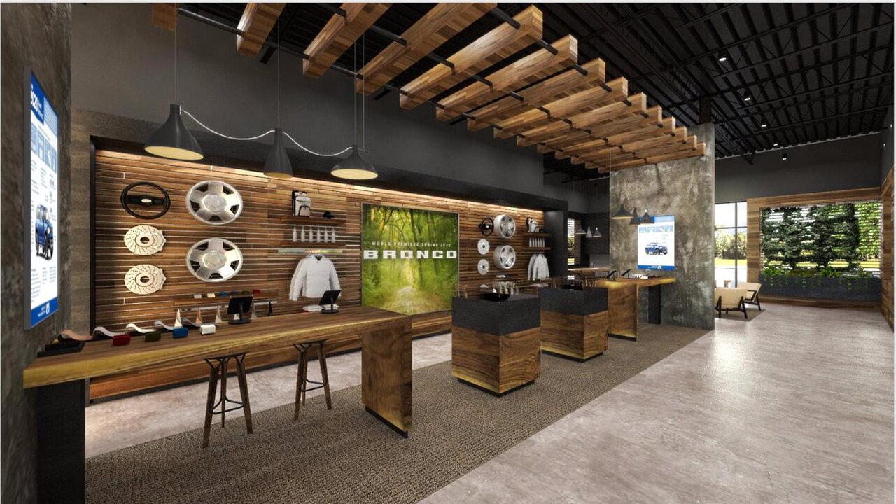 Для продажи Ford Bronco будут построены отдельные выставочные залы