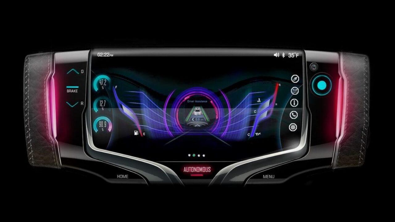 Дизайнеры General Motors показали концепцию рулевого колеса будущего