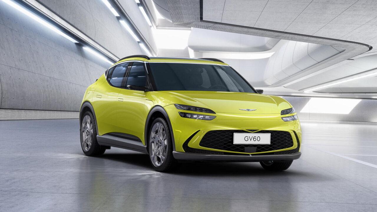 Genesis GV60 станет первым в мире электромобилем с беспроводной зарядкой