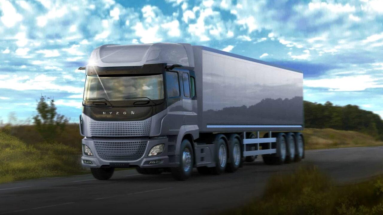 В США начали тестировать водородные грузовые автомобили Hyzon