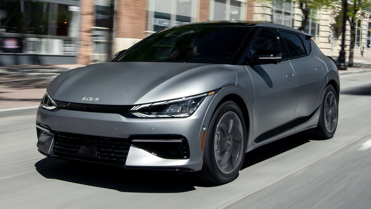 Kia EV6 стал первым корейским автомобилем, получившим сертификат Carbon Trust