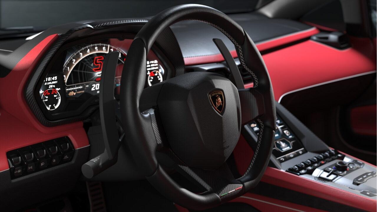 Опубликованы официальные изображения возрождённого Lamborghini Countach