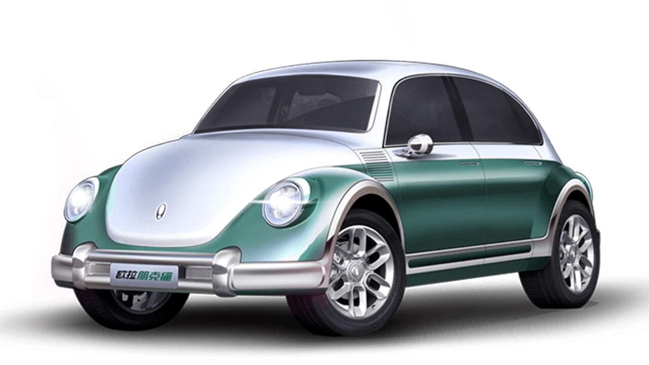 Китайцы подделали Volkswagen Beetle