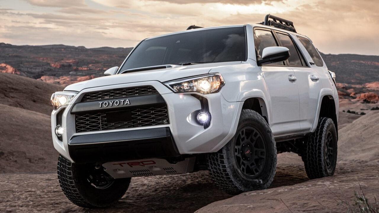 Ford тестирует Toyota 4Runner TRD Pro