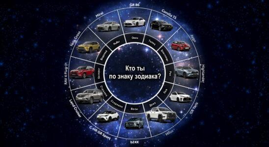 Toyota рекомендует выбирать автомобиль по знаку зодиака