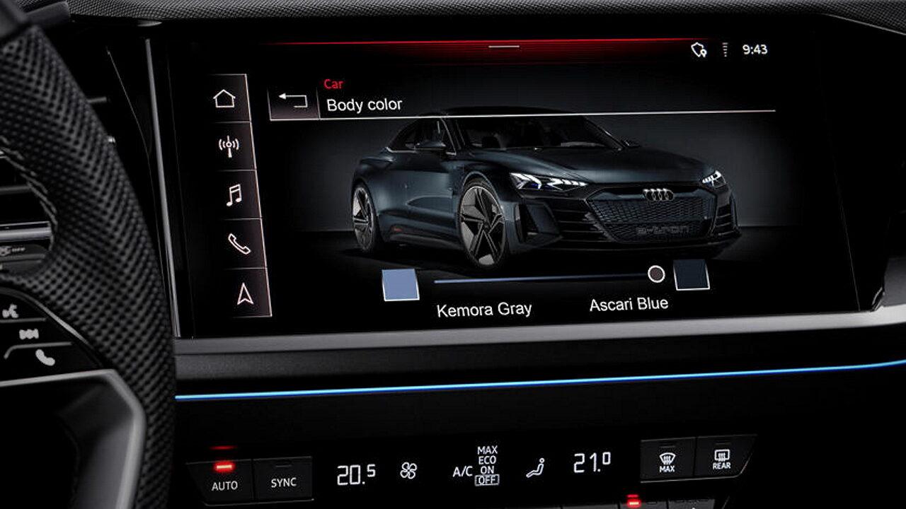 Audi разрабатывает технологию смены цвета кузова автомобиля