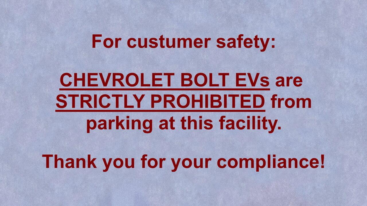 На парковках Сан-Франциско запрещают парковать электромобили Chevrolet Bolt