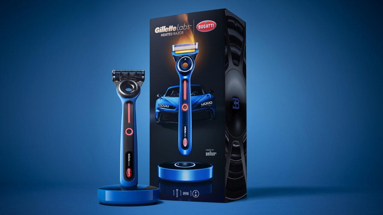 Gillette Labs Bugatti Special Edition – бритва с подогревом для поклонников Bugatti