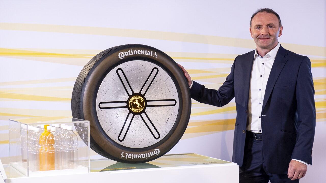 Компания Continental показала инновационные экологически чистые шины