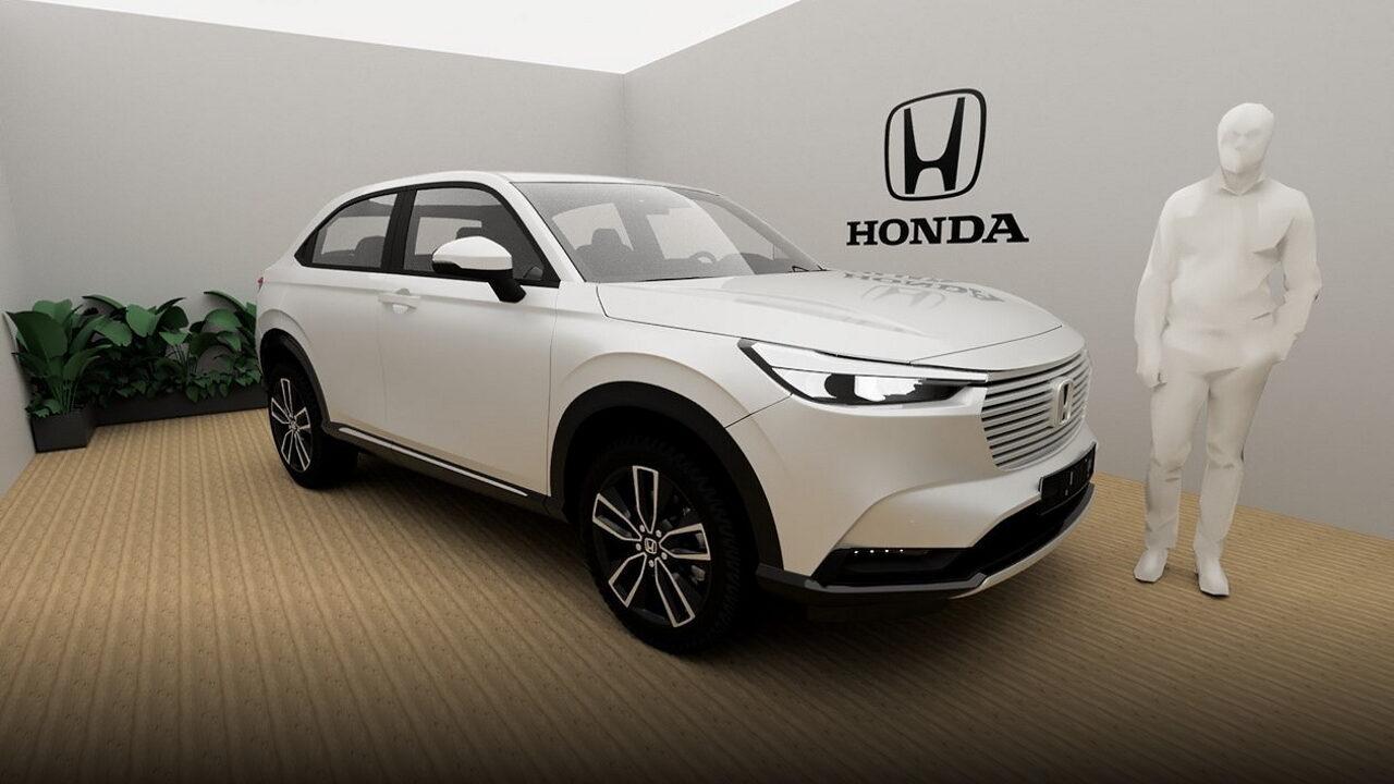 Британские покупатели Honda H-RV смогут осмотреть кроссовер виртуально