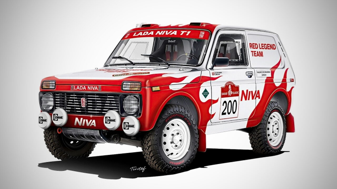 Lada поддержит швейцарскую частную гоночную команду на ралли Dakar 2022
