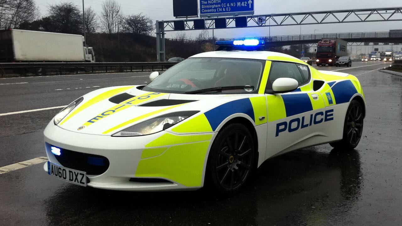 Необычные автомобили британской полиции