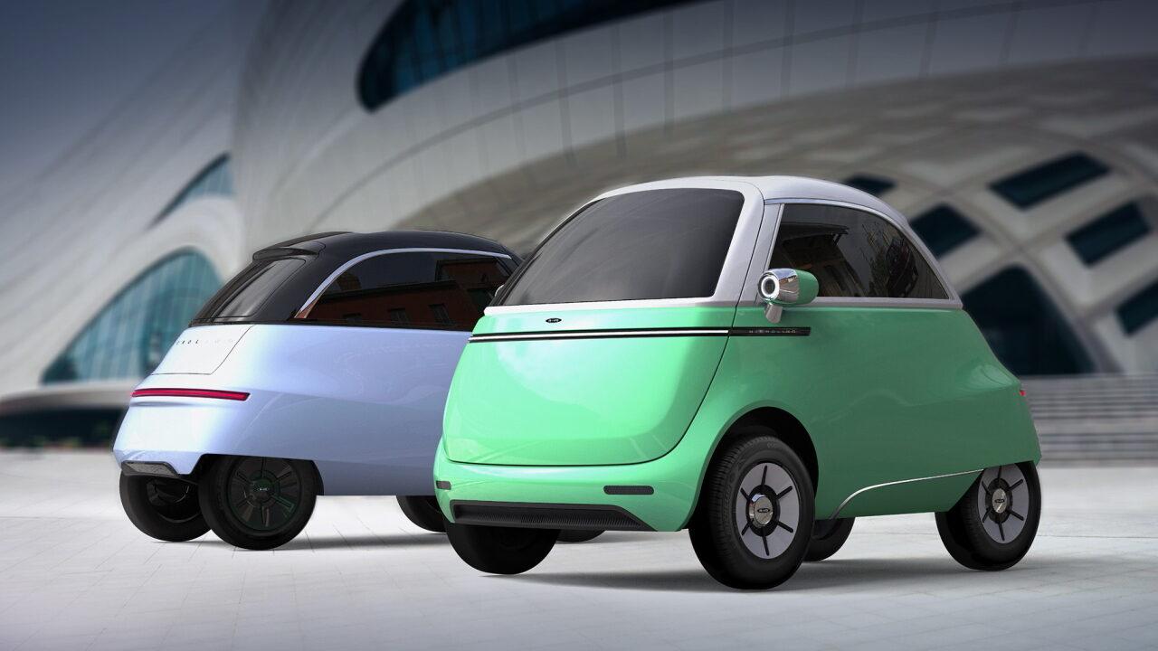 В Мюнхене состоялась премьера Microlino – швейцарской копии BMW Isetta