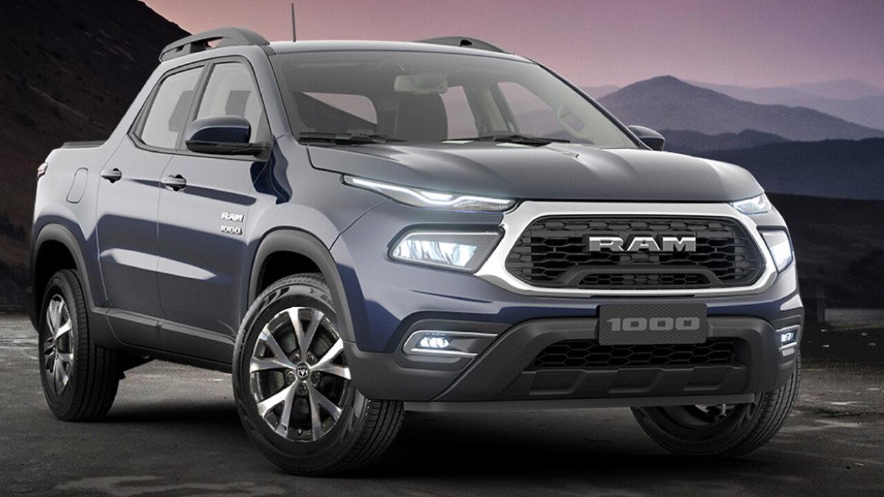 Дизайн Ram 1000 и Fiat Toro решили обновить
