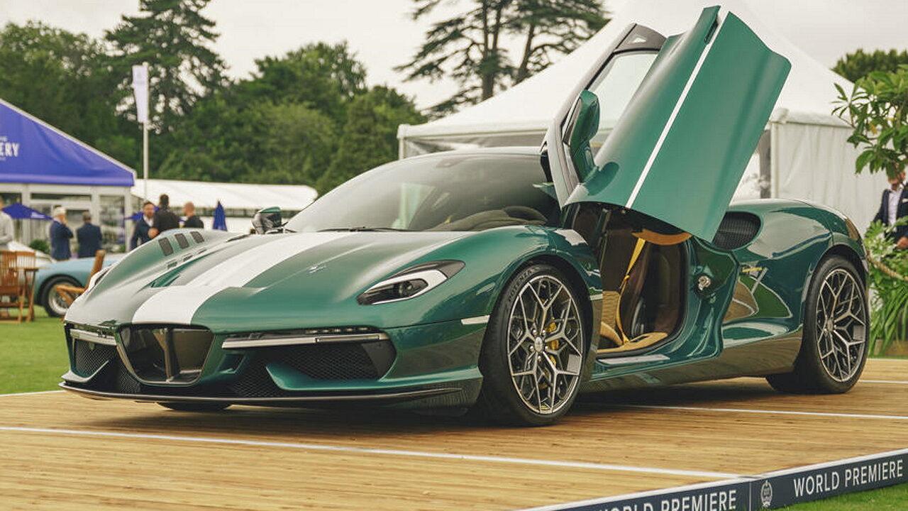 В Великобритании состоялась премьера итальянского спортивного автомобиля  Touring Superleggera Arese RH95
