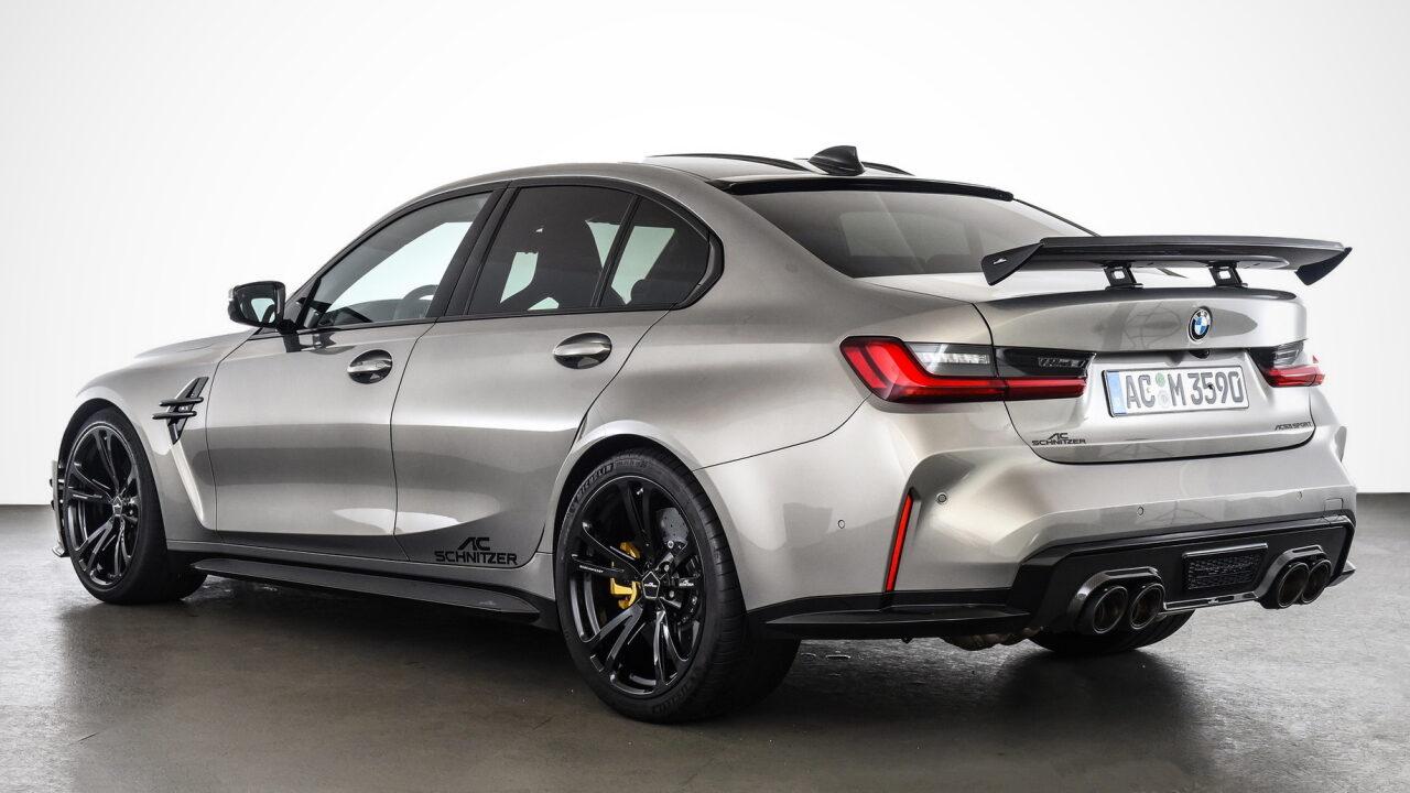 Инженеры AC Schnitzer доработали BMW M3 (G80)