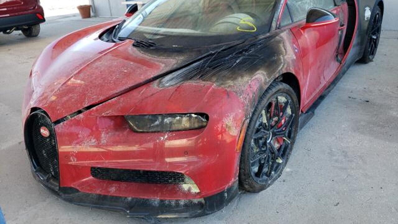Подержанный Bugatti Chiron можно купить всего за 5 тыс., но есть нюанс